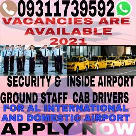 VACANCIES AVAILABLE AIRPORT DRIVER AND SECURITY STAFF
