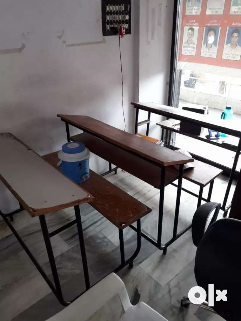Best quality study benches only Rs. 950 each 3 seater 10 numbers. 0