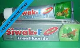 Siwak F Herbal – Pasta Gigi Tanpa Fluoride