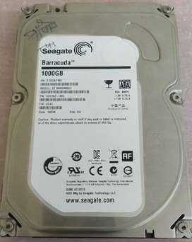 Seagate 1000GB (1TB) - Desktop HDD Hard Drive - Internal
