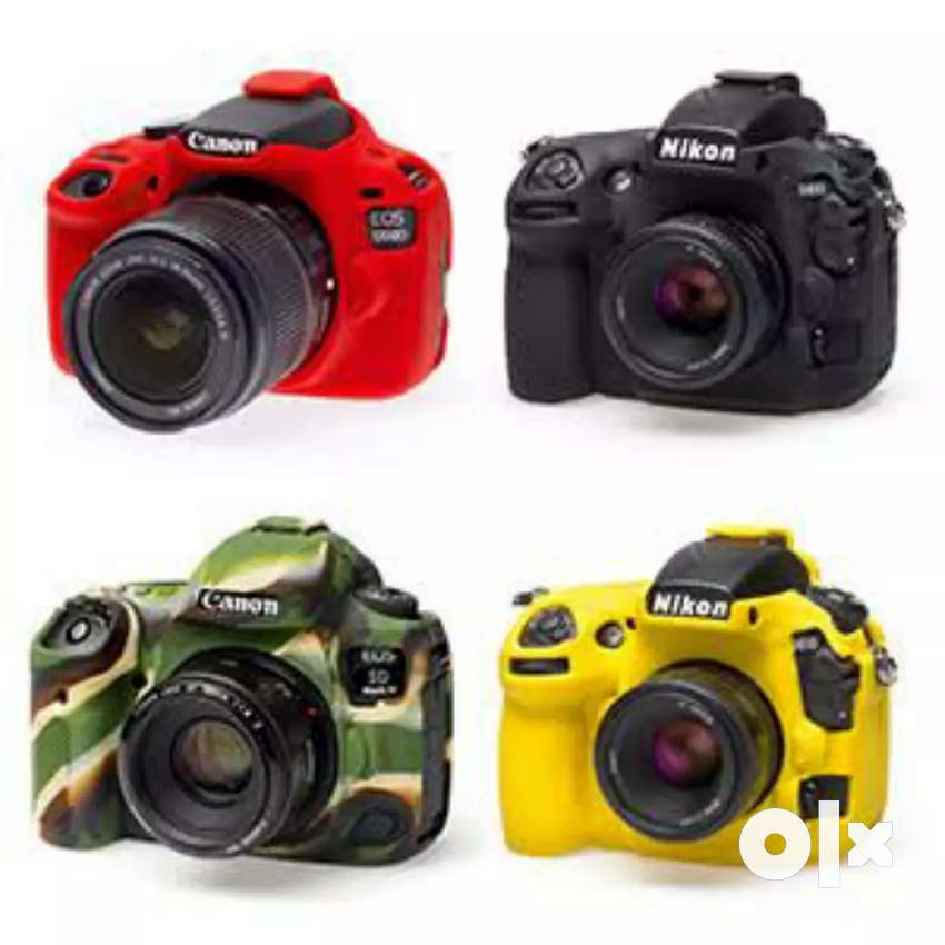 Premium Silicone Protection Covers for any Model of Canon, Nikon, Sony 0