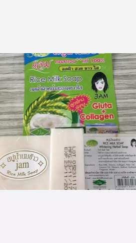 Sabun Beras Susu Original Thailand 100%