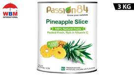 Passion84 Pineapple Slice Chunks - 3 KG