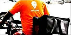 wanted delivery boys in swiggy spot id