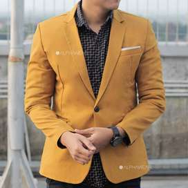 Jas Pria Warna Mustard,Jas Casual,Jas Terbaru,Jas Formal,Jas Wedding