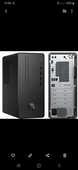 i3 10100 10th generation gaming pc with lcd