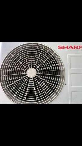 AC SHARP 1/2 PK normal jaya dingin istimewa plus pasang Grs 6 bulan
