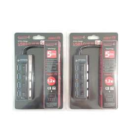 B A R U  USB HUB 4 port 3.0 ON-OFF untuk Laptop/PC/Notebook/Netbook