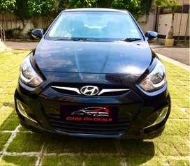 Hyundai Fluidic Verna 1.6 VTVT S, 2014, Petrol