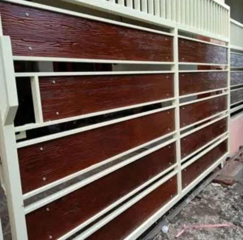 Kami bengkel las nerimah pembuatan pagar grc $$1254