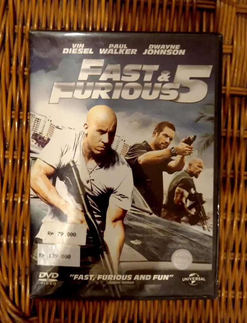 DVD FILM Fast Furious Five Staring : Vin Diesel, Paul Walker