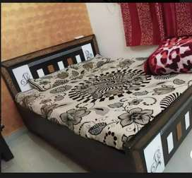 Bed sofa dining table LED good condition for sale