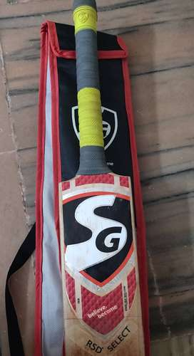 SG RSD SELECT ORIGINAL ENGLISH WILLOW CRICKETBAT(RAHUL DRAVID VERSION)