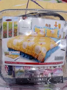 Dijual bed cover set sprei rumbai My Love ukuran 180x200