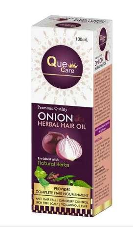 Que care onion oil