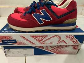 NB Classic 574 Red