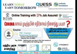 Online Training with 100% Job Assured