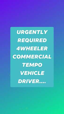 Urgently driver requirement for TaTa Ace xl (chhota hathi)at gurgaon..