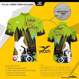 Custom bikin jersey gowes