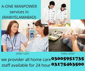 House maid  Baby sitter  Patient attendant  Nanny  Expert cook  Mother