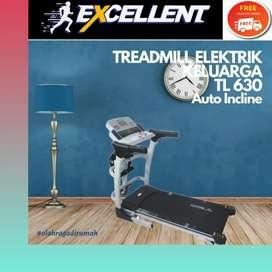 treadmill elektrik TL-630 alat olahraga lari