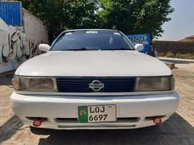 Nissan Sunny 92 model..Lahore Registered..Life time token paid...