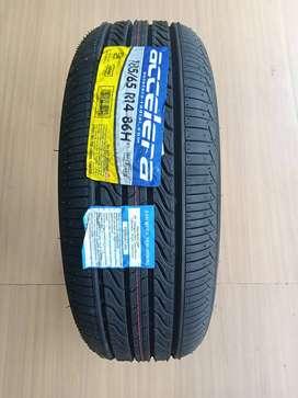 Ban Velg Mobil Ring14 Accelera Eco Plush 185/65 R14 Ban Mobil Tubell