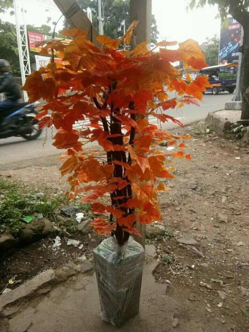 Jual pohon hias plastik 0