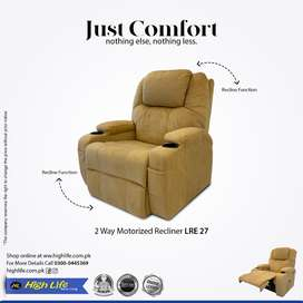 Imported High Life Motorized RECLINER With Warranty