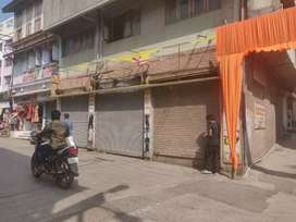 Road front shops in prime area in Panchavati available for rent