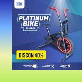 sepeda statis platinum bike total fitnes CT-86