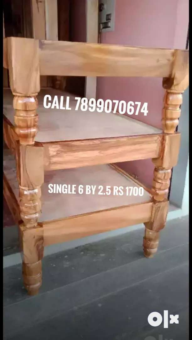 Deewan Cot single 6 by 2.5 best price all type furniture available 0