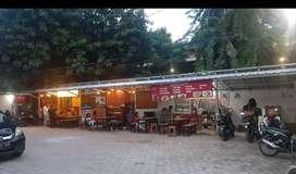 Kios dan lapak kuliner disewakan di jalan cempaka putih