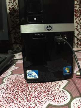 HP computer with LCD
