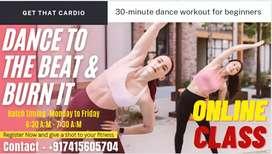 Online Dance Fitness classes