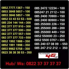 Nomor Cantik Telkomsel 4gLTE