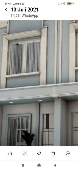 Rumah murah indent minimalis dan Elegant di pusat ibu kota
