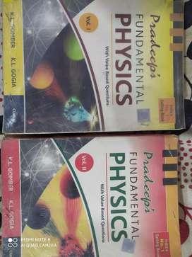 Pradeep Physics Class 11both Vol. 1 & Vol. 2 [2013-14]