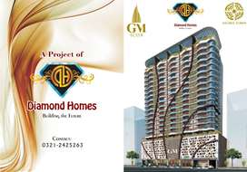 We are Offering 1,2 & 3 Bedroom Luxurious Apartments in Bahria Town