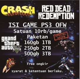 GAME PS3 OFW SATUAN