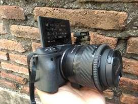 Mirrorless Canon M3 Black Lensa Fix Nego