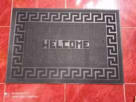 """Keset karet motif """"welcome"""""""