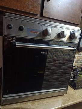 Admiral gold gas oven