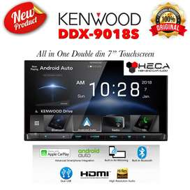 KENWOOD DDX 9018S Head Unit Double din Tape Audio Mobil | FAJAR MOBIL