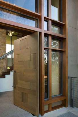 Wooden Doors manufacturing and polish services