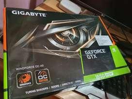 Nvidia GTX 1650 Super Graphics card Gigabyte dual fan