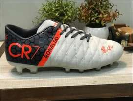 Football Shoes CR7 white Edition