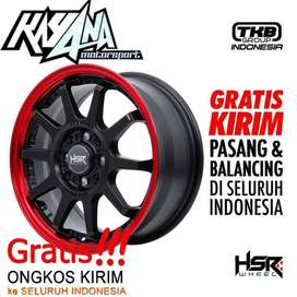 velg racing GYMKANA BOROKO 01 FC HSR R15X65 H8X100-114,3 ET42 SMB/RL