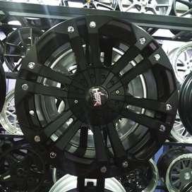 Velg mobil R16 mongo Pajero Fortuner Hilux Strada Triton cicilan 0%