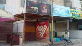 shop with attached bath,size 11/30 200 road facing north karachir 11A